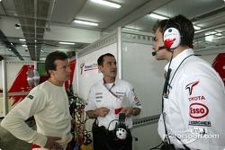 Olivier Panis and Ange Pasquali