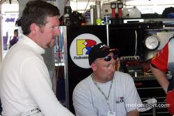 Randy Lajoie and Brett Bodine talk it over