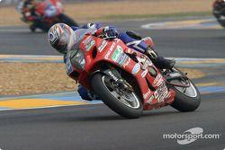 La Suzuki GSXR n°45 de l'équipe JLC Moto Ulteamatum (Amaury Baratin, Emmanuel Thuret, Emmanuel Cheron)