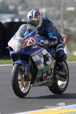La Suzuki GSXR n°20 du Sarthe Racing Kart (Thomas Metro, Jocelyn Hars, Giovanni Legname)