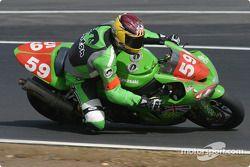 La Kawasaki ZX 10R n°59 du Team ALFS Endurance Racing (John McGuiness, Ia Scott, John Barton)