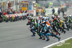Traditional Le Mans start