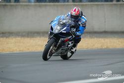 La Suzuki GSXR n°1 du Suzuki-Castrol Team (Vincent Philippe, Olivier Four, Mathieu Lagrive)