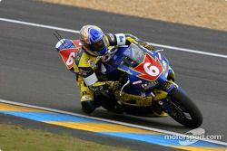La Honda CBR n°6 de National Motos Playstation 2 (Philippe Donischal, Bernard Fourcadet, Bruno Bonhuil)