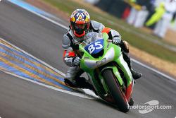 La Kawasaki ZX10 n°85 d'Ardouin Motos (Renaud Moisan, Sébastien Diss, Bernard Cuzin)
