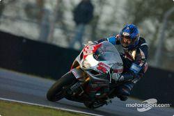 La Suzuki GSXR n°199 du Team Moto et Motards (Frank Donzelli, William Milios, Yacouba Galle)