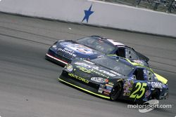 Brian Vickers et Rusty Wallace