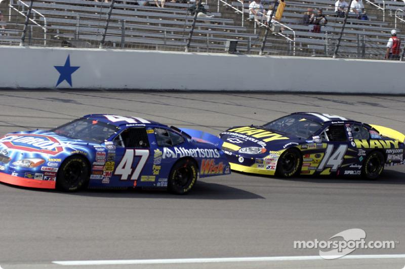 Robert Pressley et Casey Atwood