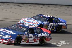 Ron Hornaday et Robert Pressley