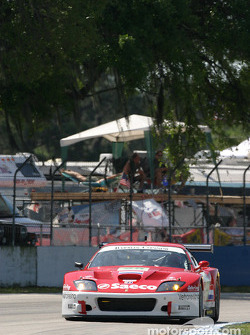La Ferrari 575 GTC n°25 du Barron Connor Racing (John Bosch, Danny Sullivan, Thomas Biagi)
