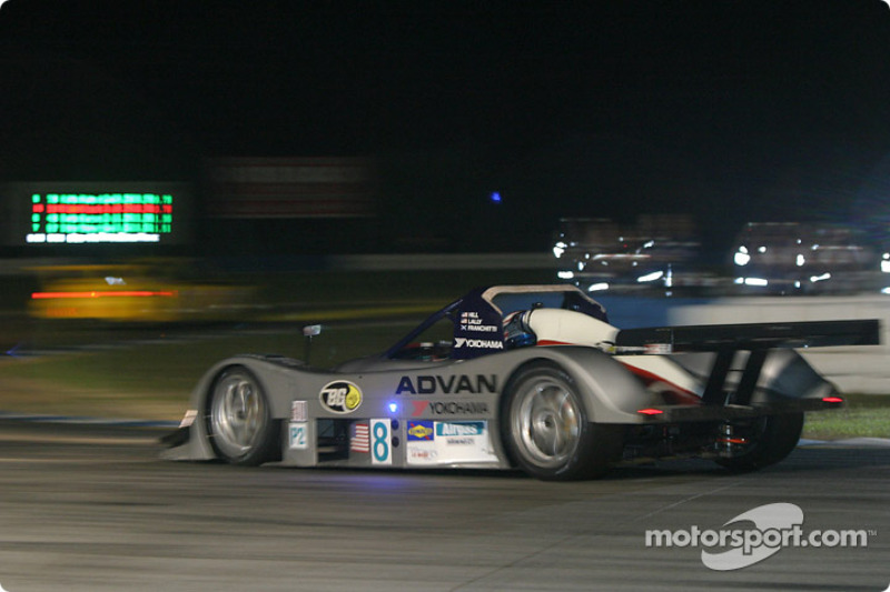 La Lola B2K/40 Nissan n°8 du Rand Racing (Marino Franchitti, Derek Hill, Andy Lally)