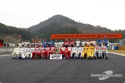 Les pilotes de GT500