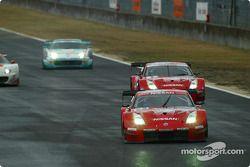Le tour de chauffe des GT500