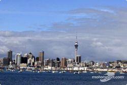 L'horizon d'Auckland avec la Sky Tower