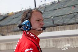 Un mécanicien du Chip Ganassi Racing Team