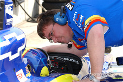 Mark Taylor et son crew chief Robin Boling
