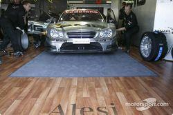 Auto von Jean Alesi, Team HWA, AMG-Mercedes C-Klasse 2004