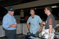 Rocky Moran Sr. et Jr. avec Philip Fayer