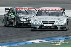 Jean Alesi, Team HWA, AMG-Mercedes C-Klasse 2004; Gary Paffett, Team HWA, AMG-Mercedes C-Klasse 2004