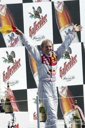 Podium: Mattias Ekström, Team Abt Sportsline, Audi A4 DTM 2004