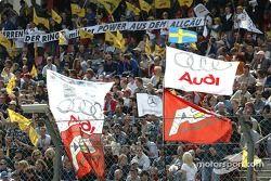 Les fans à Hockenheim