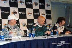 Conférence de presse des trois premiers : Greg Pickett, le vainqueur Paul Gentilozzi et Boris Said