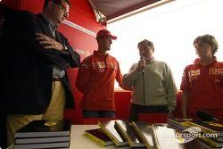 Lancement du livre officiel de Ferrari