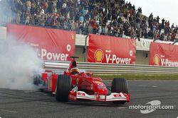Rubens Barrichello, Shell V-Power Challenge media event