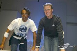 Ralf Schumacher et un top model