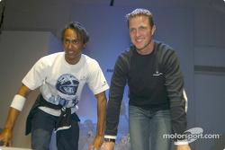 Ralf Schumacher ve model