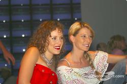 Jasmin Wagner and Giulia Siegel