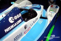 Le cockpit de la Pescarolo-Judd 2004