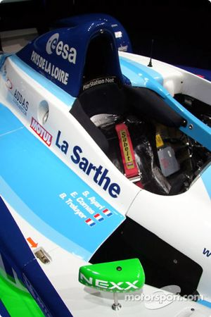 Cockpit of the 2004 Pescarolo-Judd