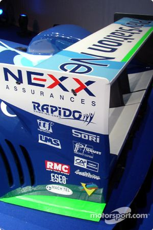 Detail of the 2004 Pescarolo-Judd