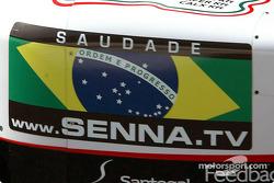 Senna.tv en un Minardi