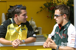 Timo Glock and Christian Klien