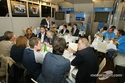 Обед с Энцо Трулли, отцом гонщика Renault F1 team Ярно Трулли