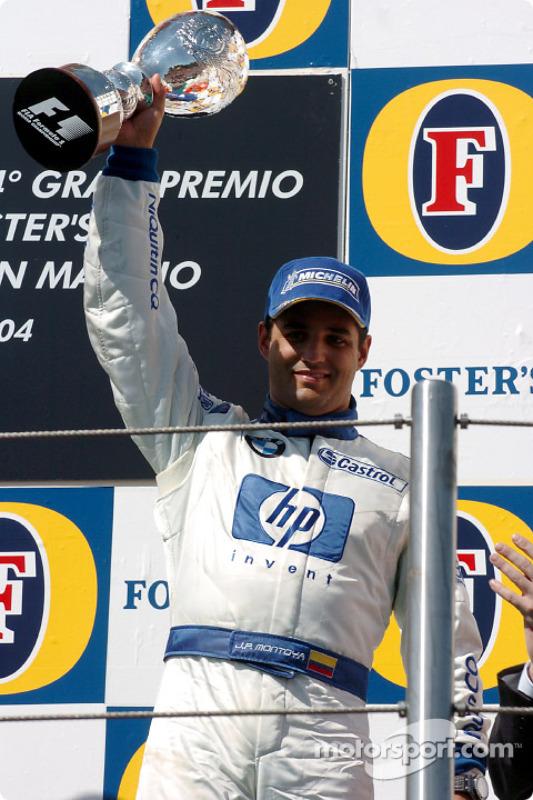 Podio: Juan Pablo Montoya, Williams-BMW