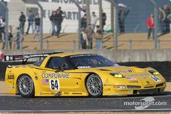 La Corvette C5-R n°64 du Corvette Racing (Ron Fellows, Johnny O'Connell, Max Papis)