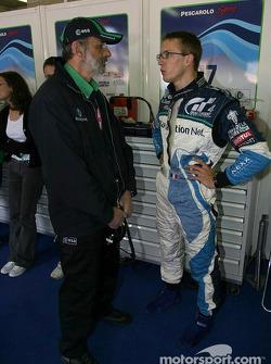 Henri Pescarolo et Sébastien Bourdais
