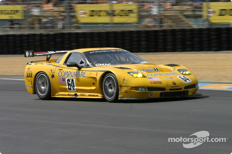 2004: #64 Corvette Racing Corvette C5-R: Ron Fellows, Johnny O'Connell, Max Papis