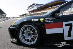 La Ferrari 360 Modena n°70 de l'équipe JMB Racing