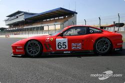 La Ferrari 550 Maranello n°65 de Prodrive Racing