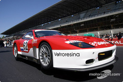 La Ferrari 575 Maranello n°62 du Barron Connor Racing