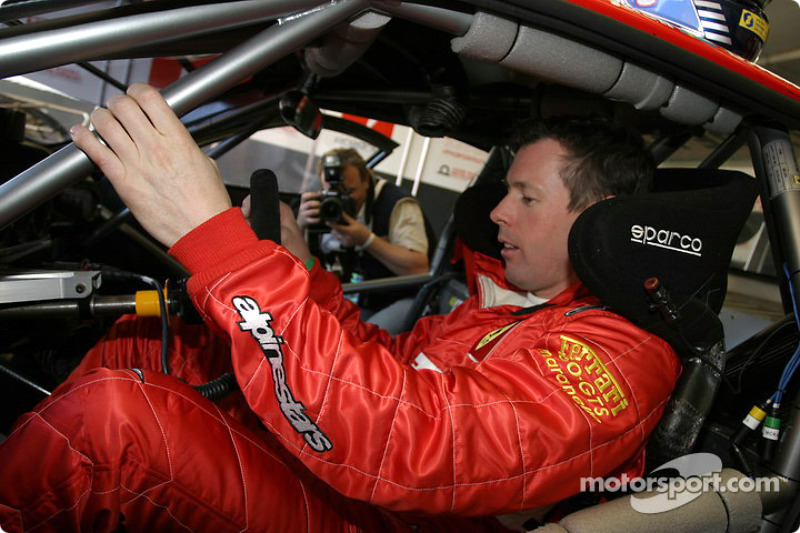 Colin McRae in Le Mans