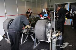 Le garage du Champion Racing
