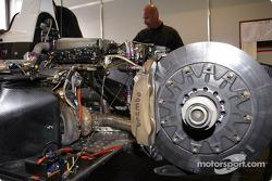 Le moteur de l'Audi R8 du Champion Racing
