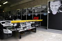 Le garage de Racing for Holland