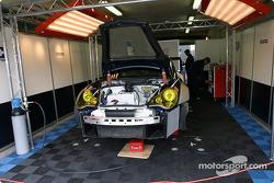 Le garage du Orbit Racing