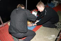 Le garage du Kondo Racing